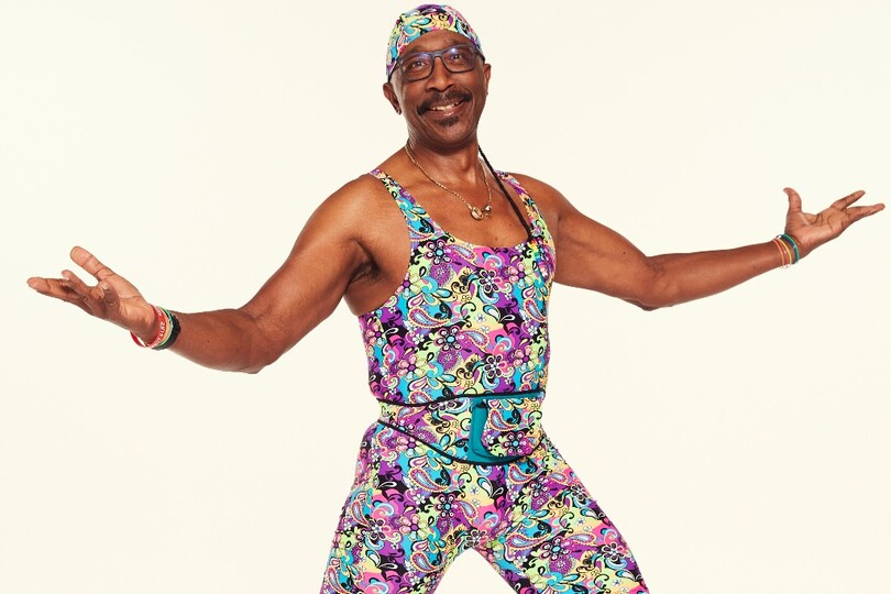 Mr Motivator's travel industry exercise class - TODAY