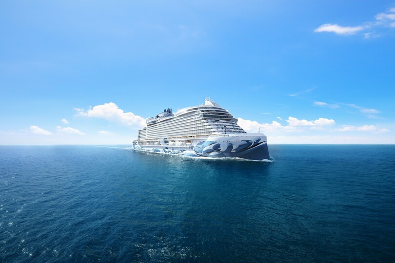 NCL reveals name and first itineraries for next ship