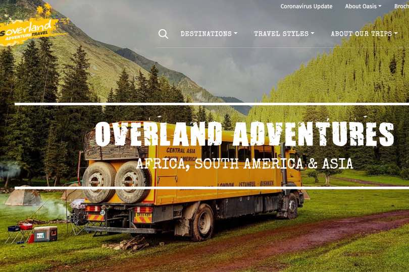 Encounters Travel to relaunch Oasis Overland brand