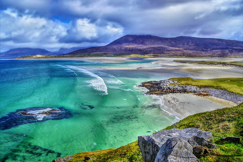 Scotland's Outer Hebrides will be one of Seaventure's ports of call