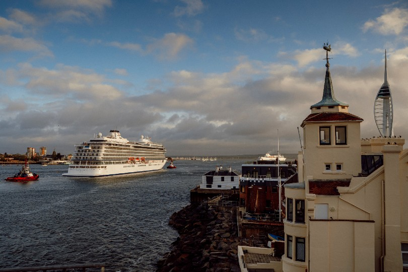 Viking Venus makes maiden call in Portsmouth