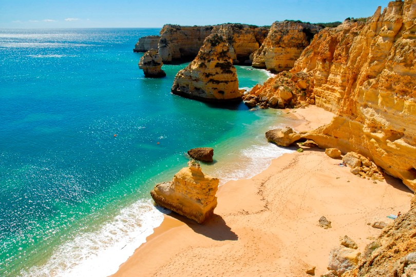 Thousands of Brits have been seeking to get home at short notice (Credit: Algarve Tourism Board)