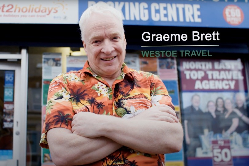 Graeme Brett is one of South Tyneside's Covid community champions (Credit: South Tyneside Council)