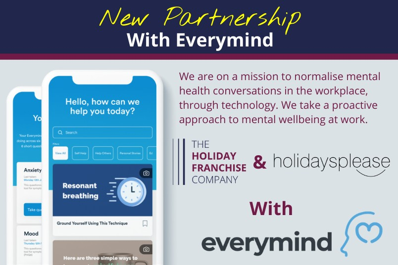 The Holiday Franchise Company has appointed five mental health champions
