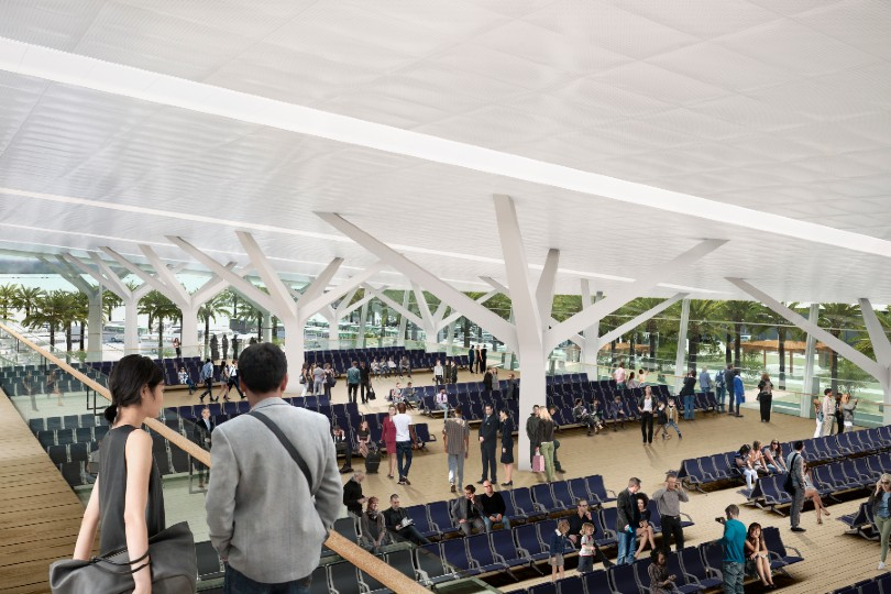 MSC expects the terminal to open in 2024 (Credit: MSC Cruises)