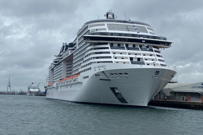 Future MSC Greenock departures on 16 and 23 June have also been cancelled, according to the SPAA