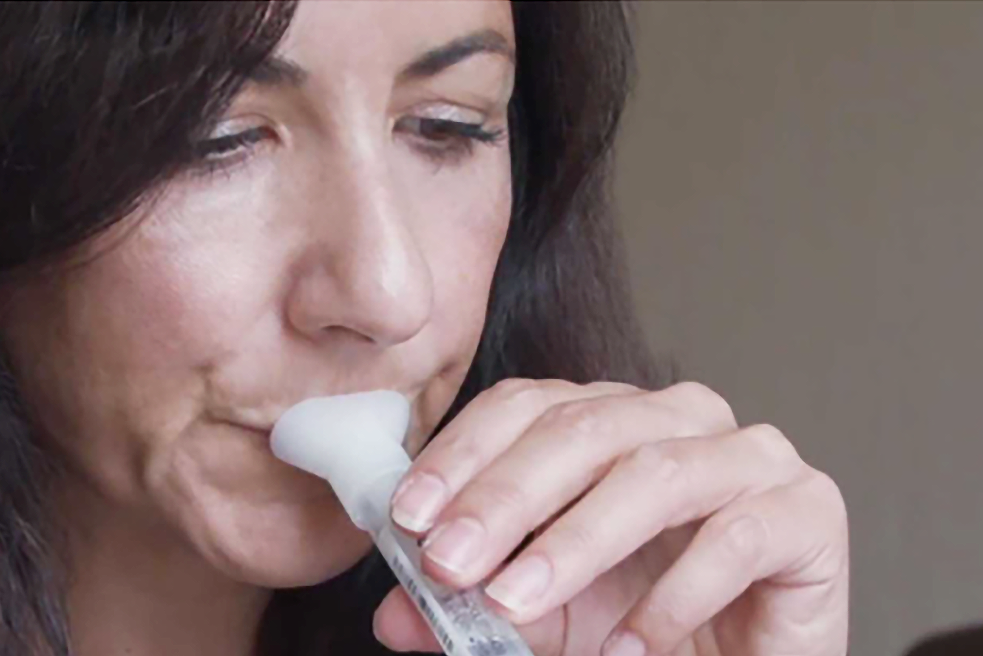 Halo's PCR spit test has been approved by the UK government
