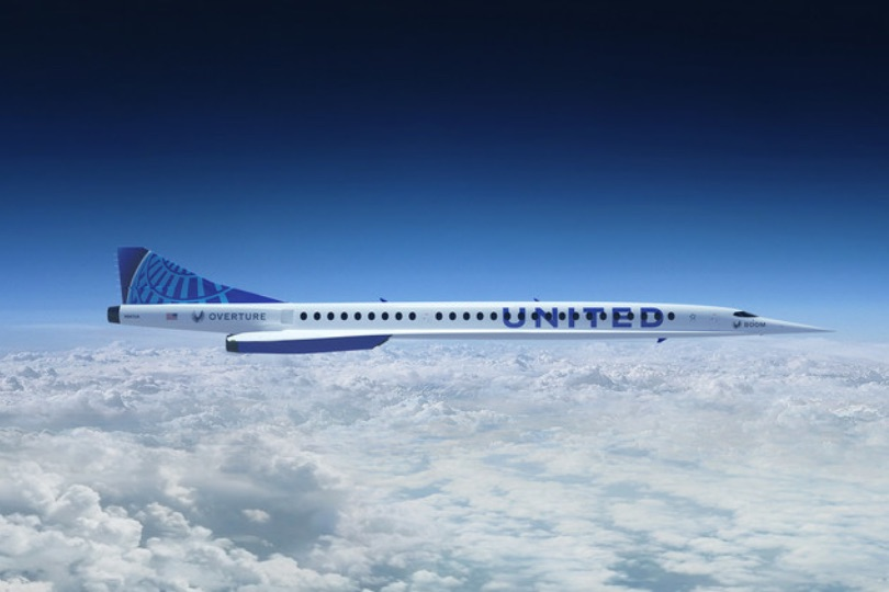United Airlines orders 15 supersonic aircraft