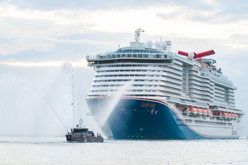 Carnival Cruise Line's Mardi Gras makes US debut
