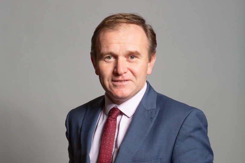 Environment sec George Eustice has said his advice to people would be to holiday at home (Credit: gov.uk)