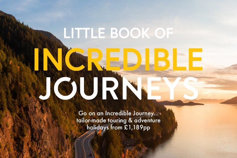 Gold Medal unveils Little Book of Incredible Journeys