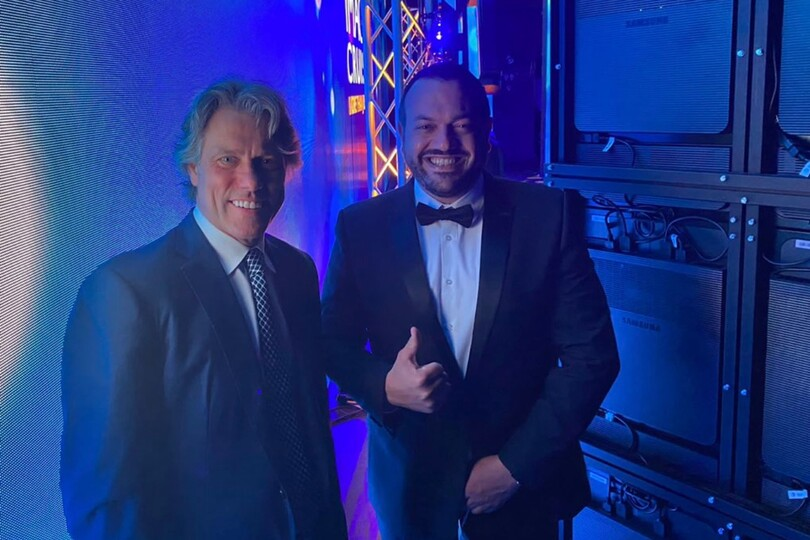 John Bishop performed for the first time in 15 months onboard MSC Virtuosa
