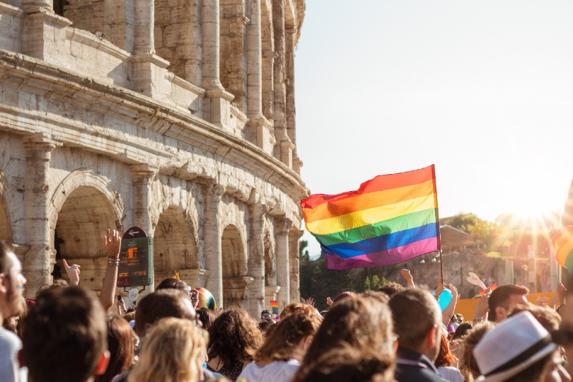 Take the LGBT Italy survey and be in with a chance of winning a hamper. Pic credit: Photo by Luis Cortés on Unsplash.jpg