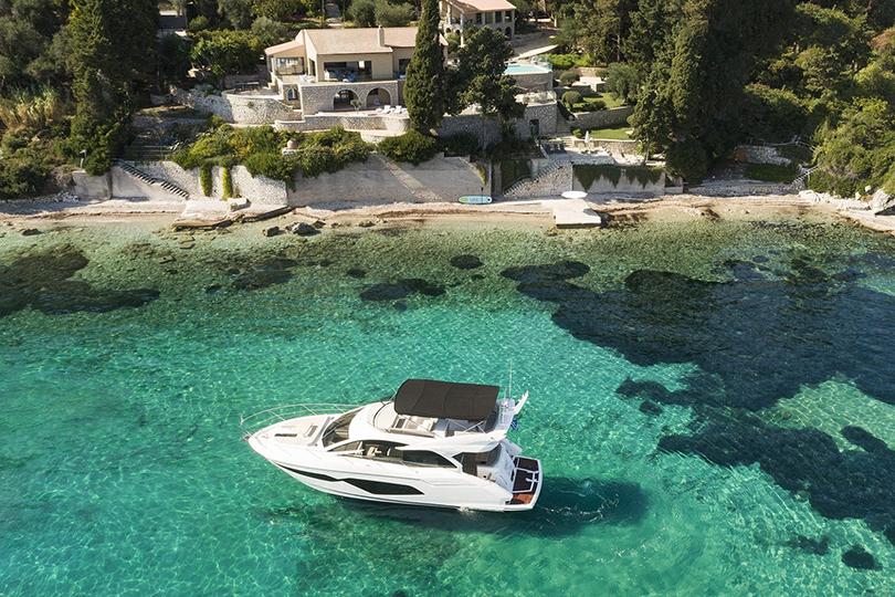 Margot Estate in Corfu features with Luxury Villa Living