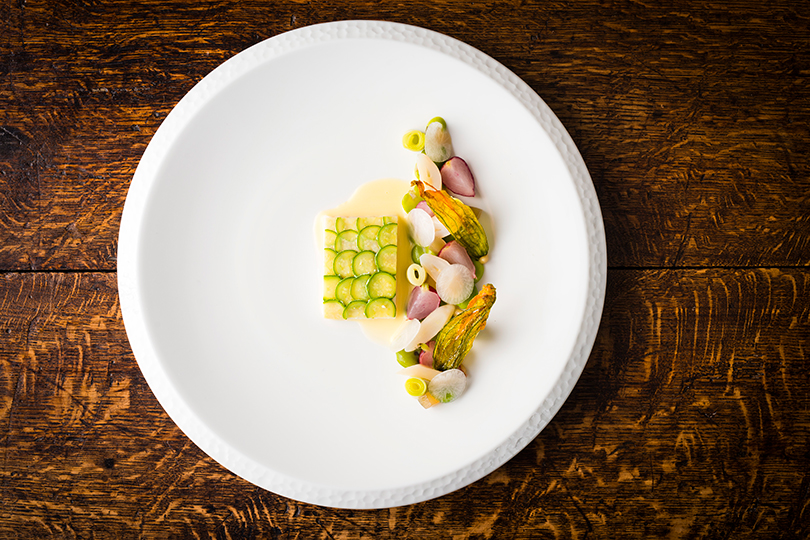 Diners opt for five or seven-course tasting menus