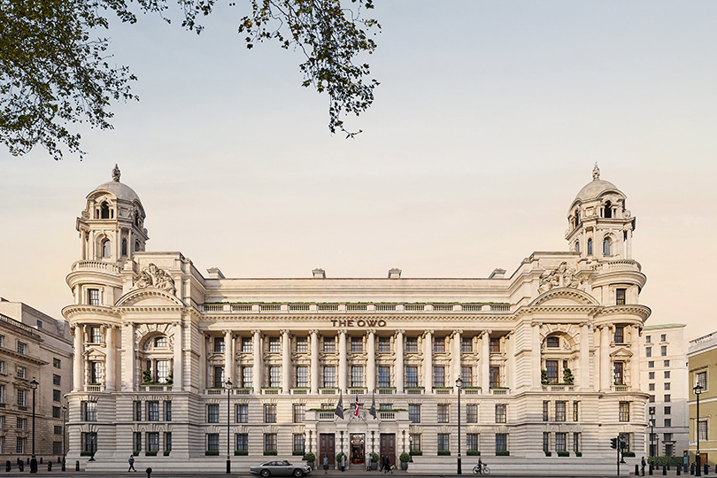 Raffles is set to launch its London hotel and residences in 2022 (Credit: Grain London)