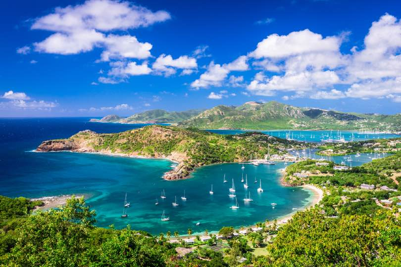 Antigua will be one of the ports of call on P&O's new 40-night cruise to the Caribbean on Aurora