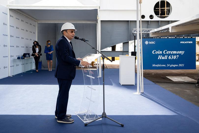 MSC Cruises names new Seaside Evo-class ship