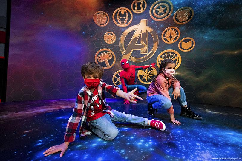 Disney's Hotel New York - The Art of Marvel opens at Disneyland Paris