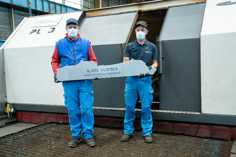 MSC begins building 'most environmentally-friendly ship to date'