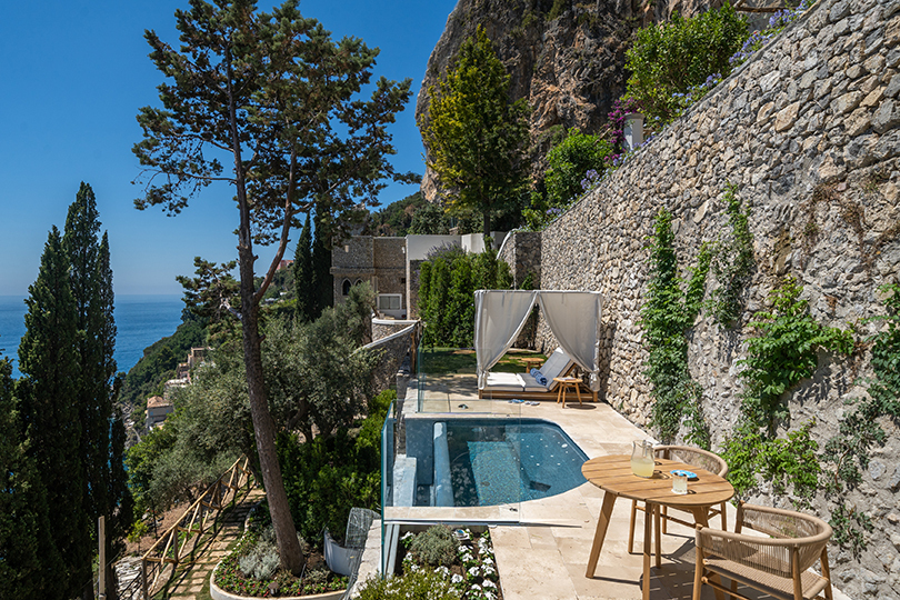First luxury hotel to open on Amalfi coast for 15 years makes debut