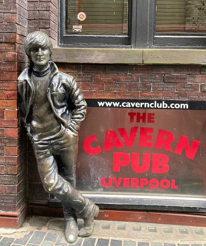 Liverpool's world-famous Cavern Club