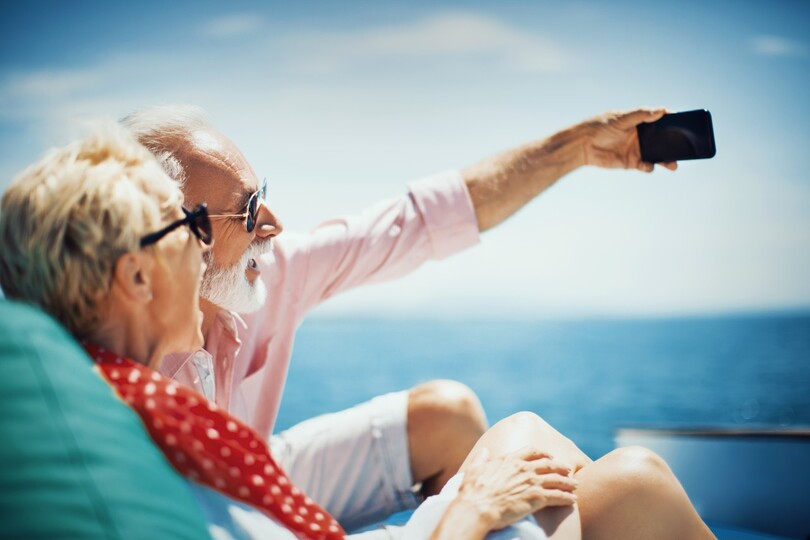 The line has dismissed concerns the over-50s audience might not be so keen to use technology