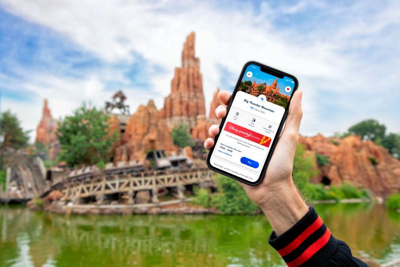 Disneyland Paris rolls out new digital app services