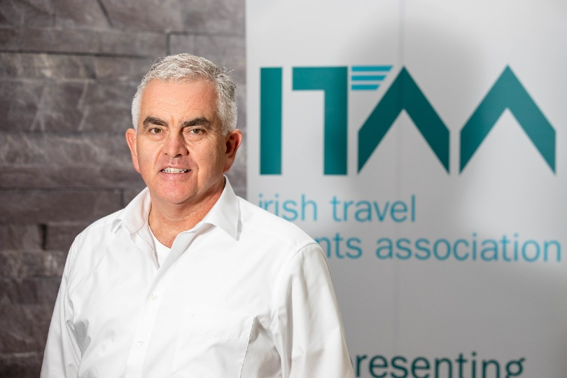 Hackett was elected ITAA president last month