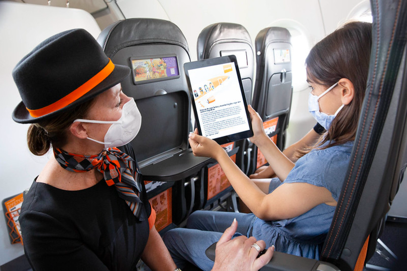 EasyJet launches in-flight language learning initiative