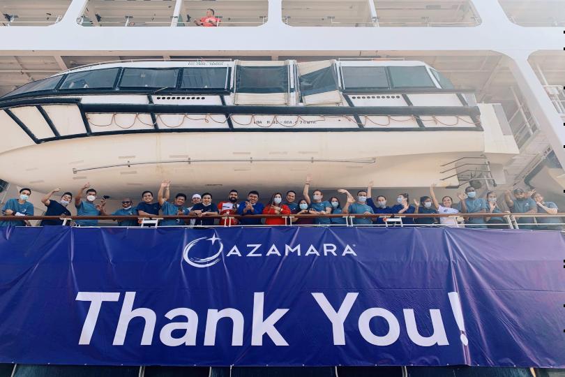Azamara returns to service after Scotland departure