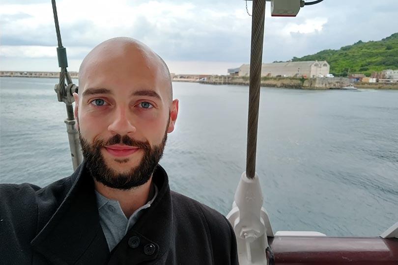 TTG's Will Payne onboard Golden Horizon