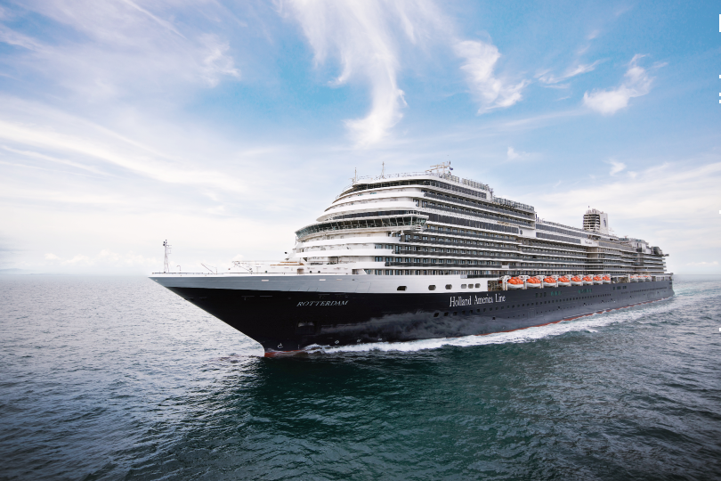 Holland America Line takes delivery of new flagship