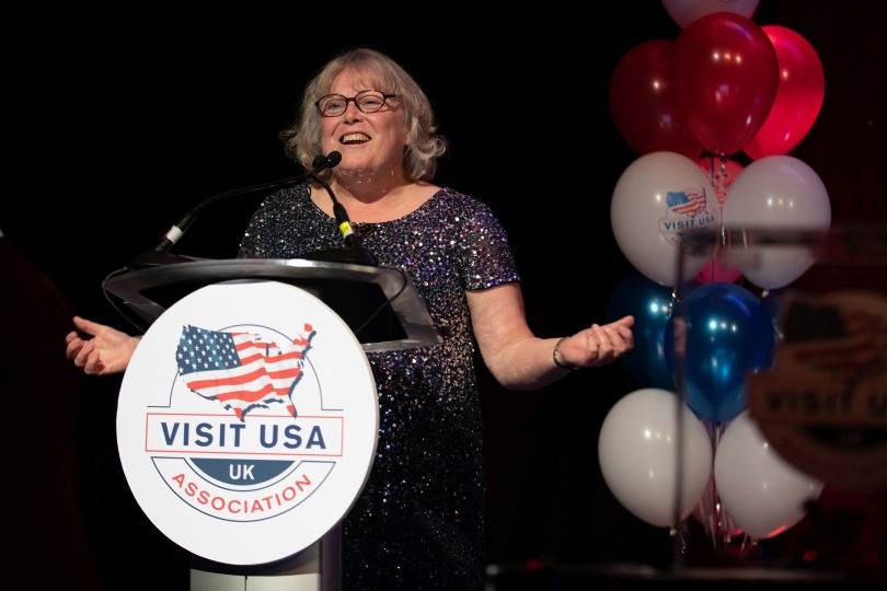 Lax chaired the association for the past five years (Credit: Visit USA)