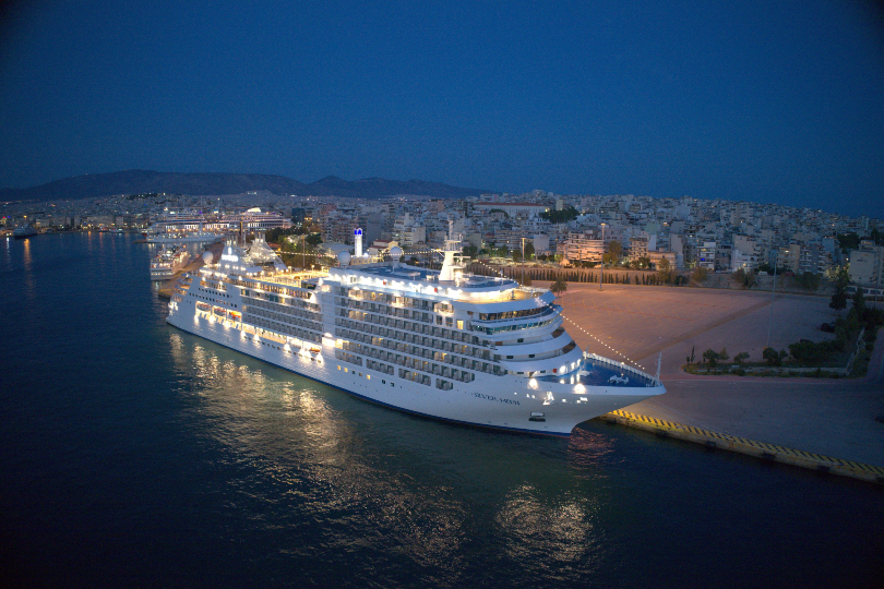 Silversea christens new ship Silver Moon in Athens