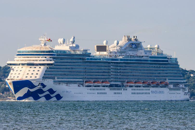 Sky Princess arrives in UK ahead of 'seacation' season