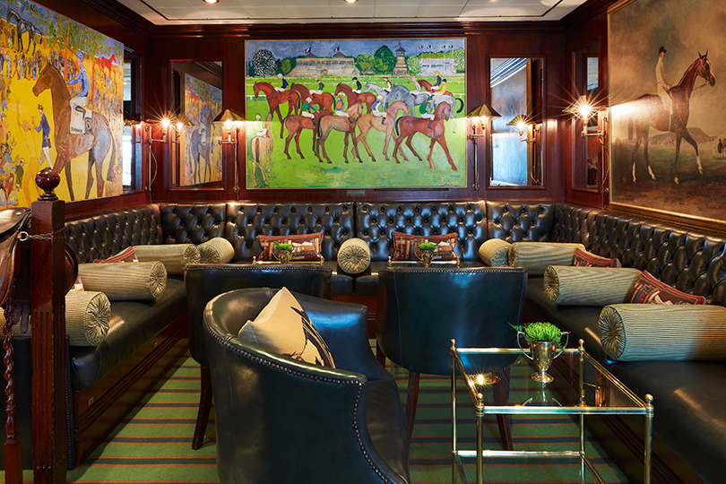 The hotel's Stables Bar is a tucked-away find