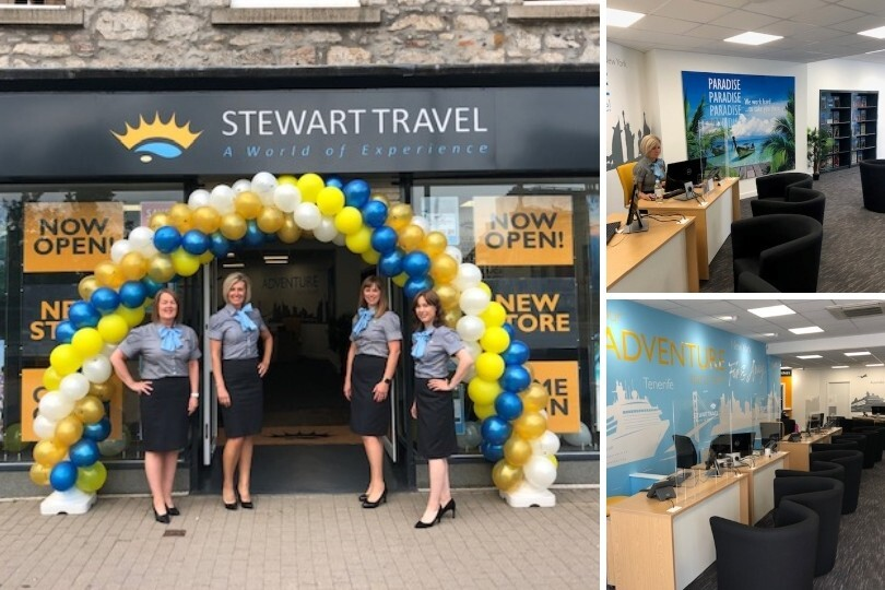 Stewart Travel relocates agency to larger premises