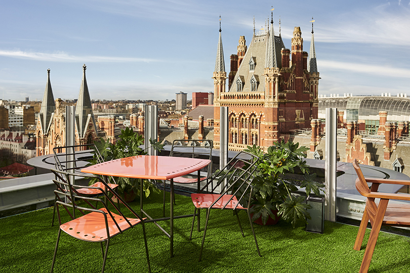 A stay at The Standard has to include drinks at the rooftop bar