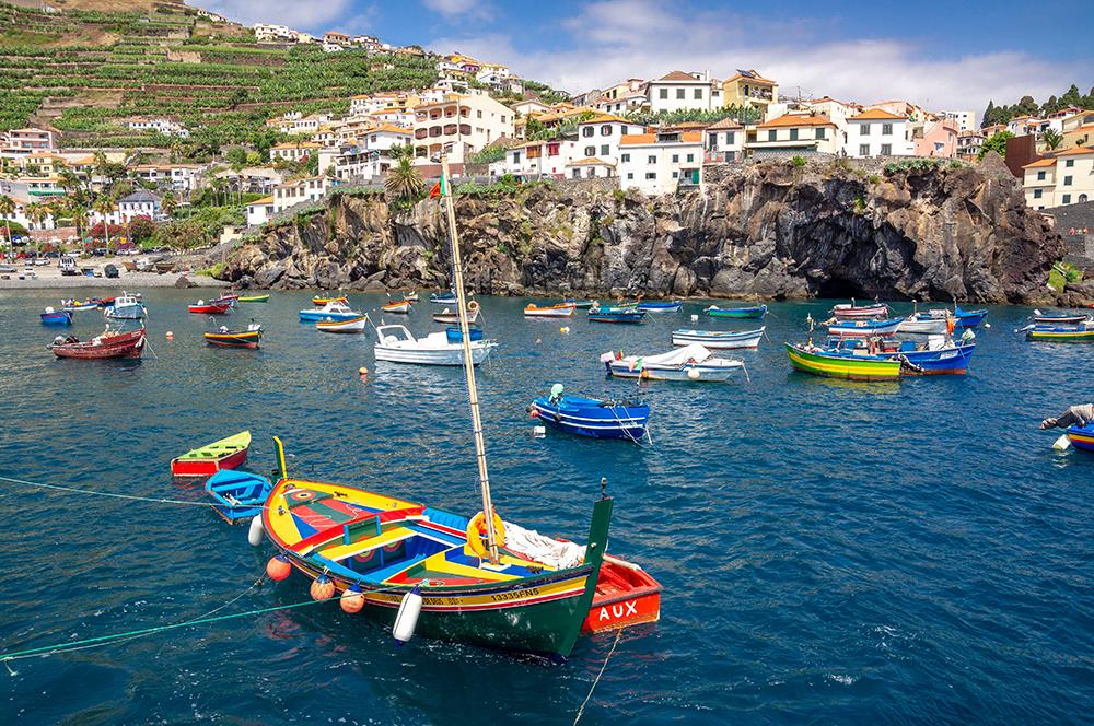 The fishing village of Camara de Lobos (Credit: Piotr Musiol/Unsplash)
