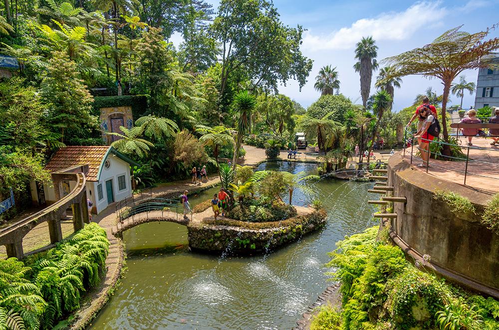 The Madeira Botanical Garden in Funchal (Credit: Piotr Musiol/Unsplash)