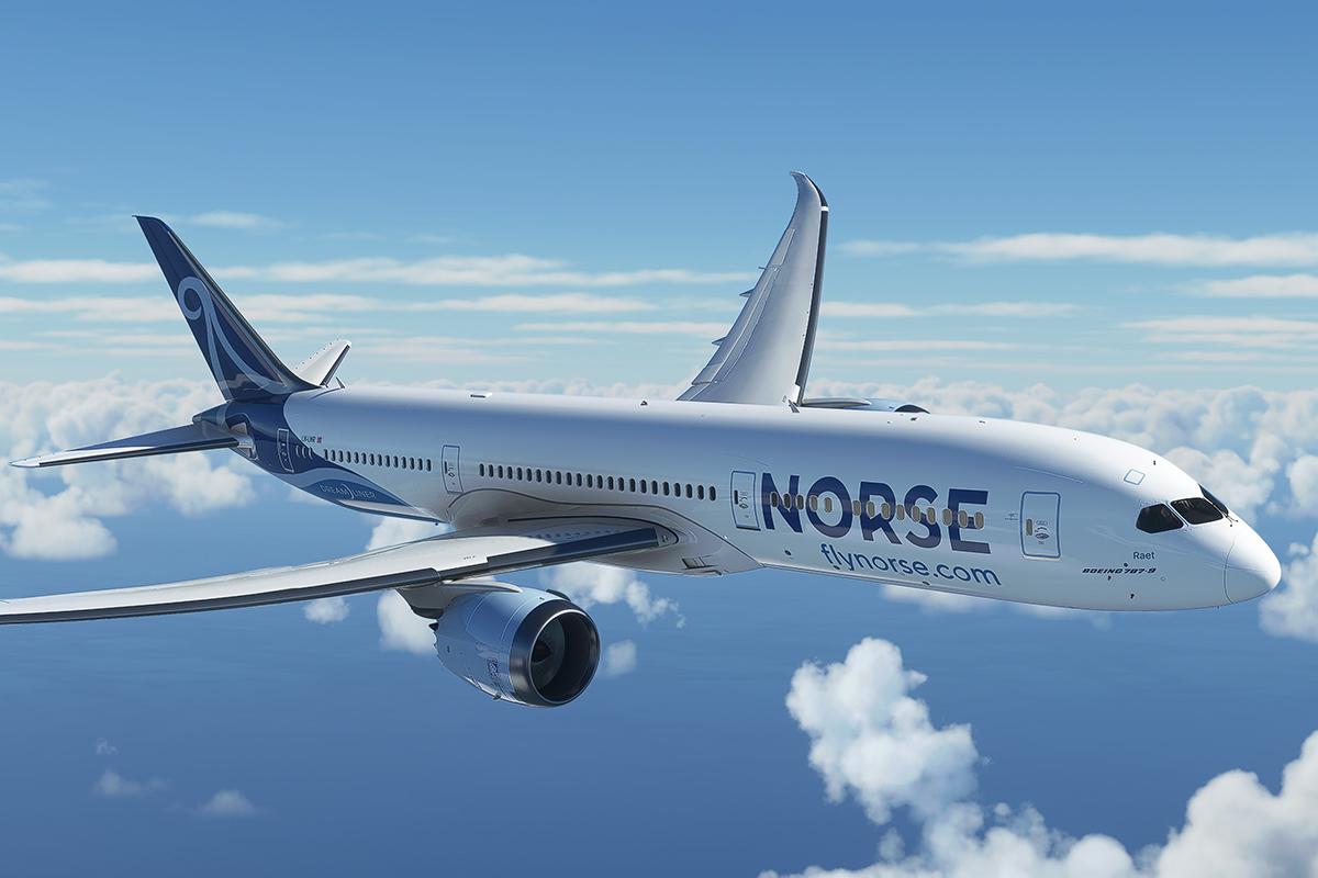 Norse Atlantic Airways will use former Norwegian Boeing 787s