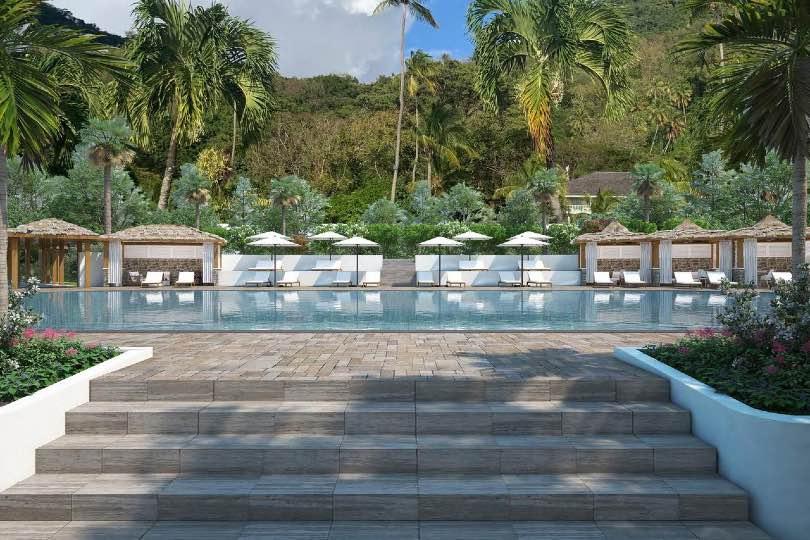 Saint Lucia's Sugar Beach to upgrade for winter season