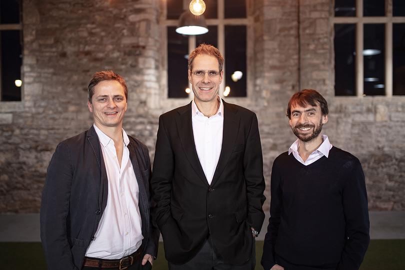 TravelLocal co-founders Huw Owen, Mark Hudson and Tom Stapleton
