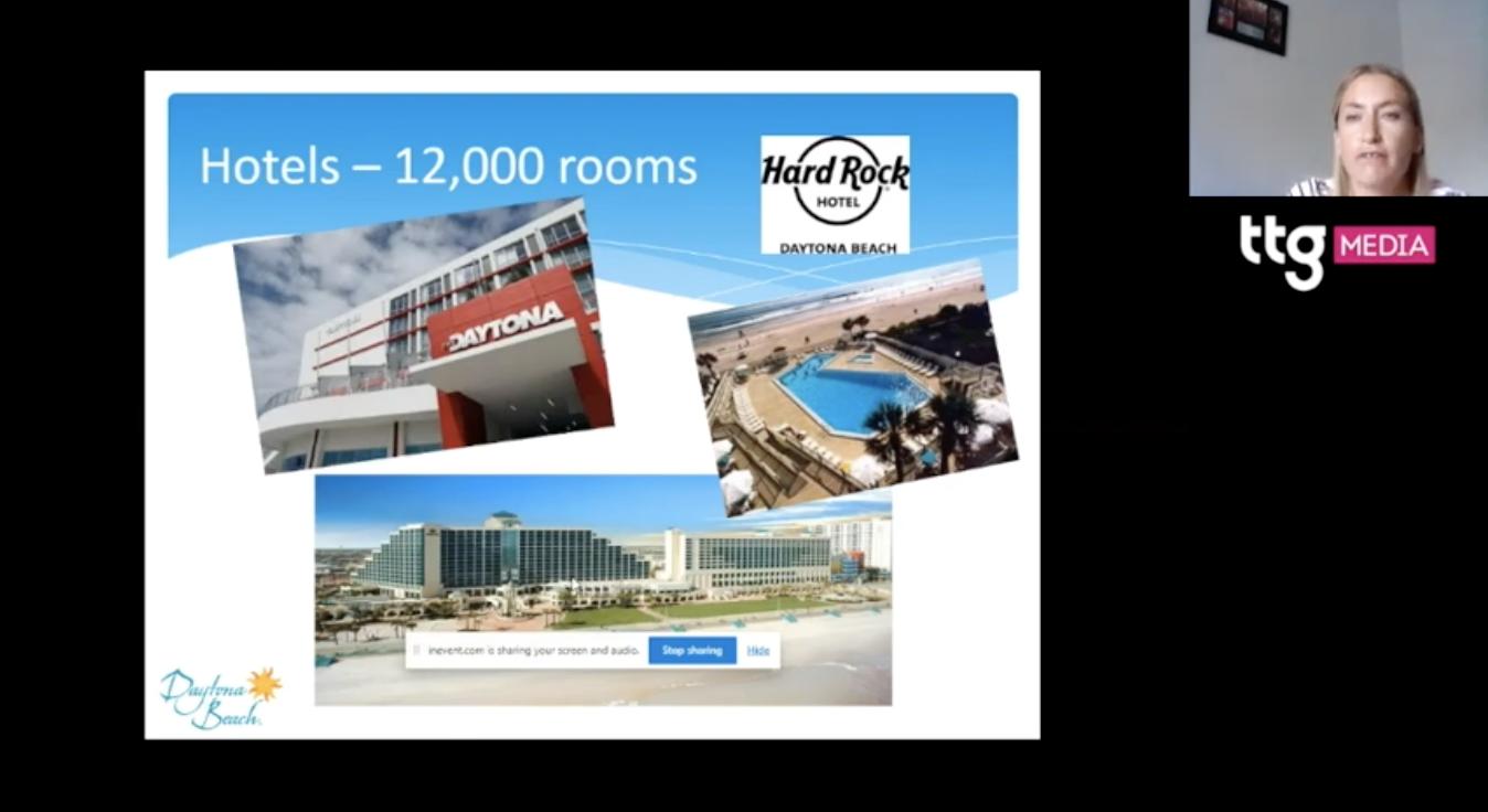 TTG Digital Destinations Festival 2021: Daytona Beach agent training