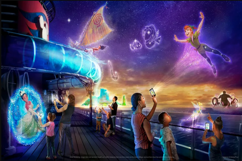 Disney Wish will sail its maiden voyage on 9 June 2022