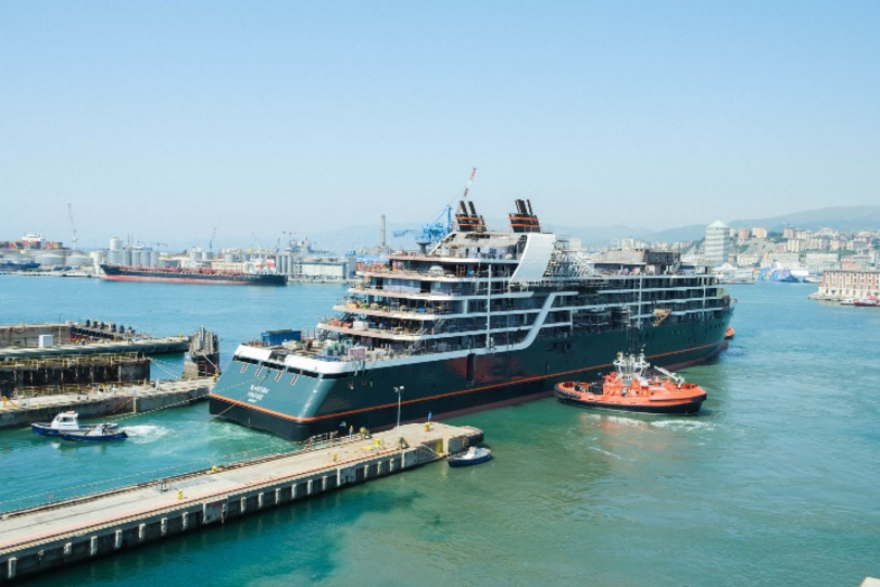 Seabourn hosts launch ceremony for new expedition ship