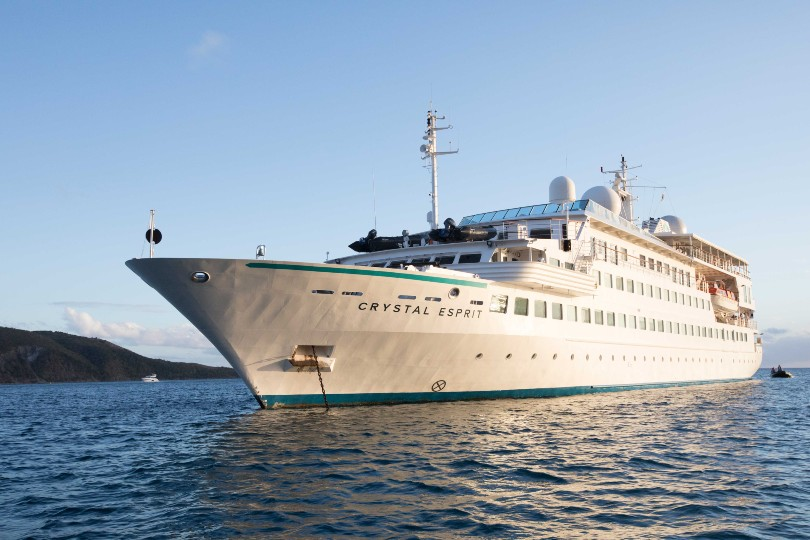 """A spokesperson for the line said: """"We extend our heartfelt gratitude to the officers and crew who worked passionately to make Crystal Esprit a unique vacation"""""""