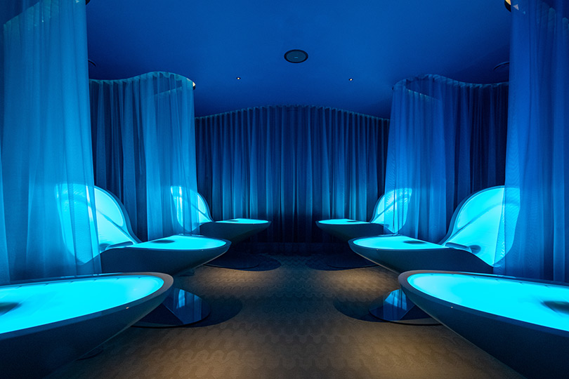 The Deep Relaxation Room is a feature of The Club at Cottonmill