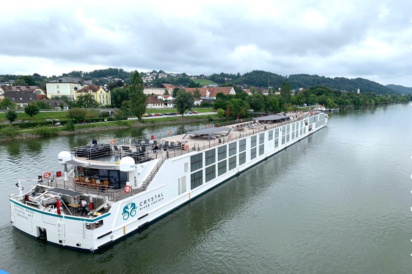 Crystal Ravel departed on 29 August from Vishofen to cruise the Danube and Crystal Debussy left Basel on 30 August to cruise the Rhine